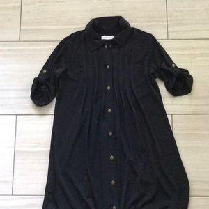 Calvin Klein Black Jersey Dress sz. Sm